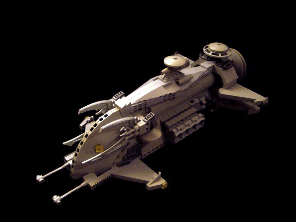 Gozertron Fleet #14; Création Légo de Crimso